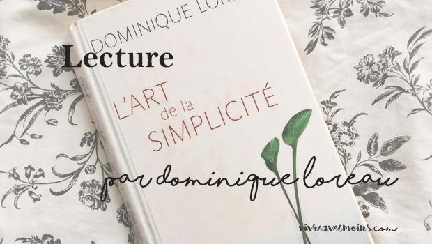 lart de la simplicité