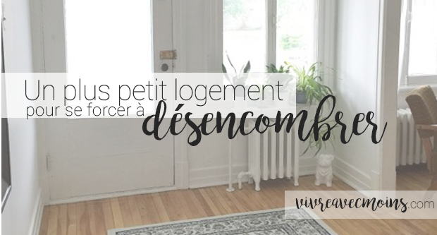 petit appartement, désencombrement, minimalisme