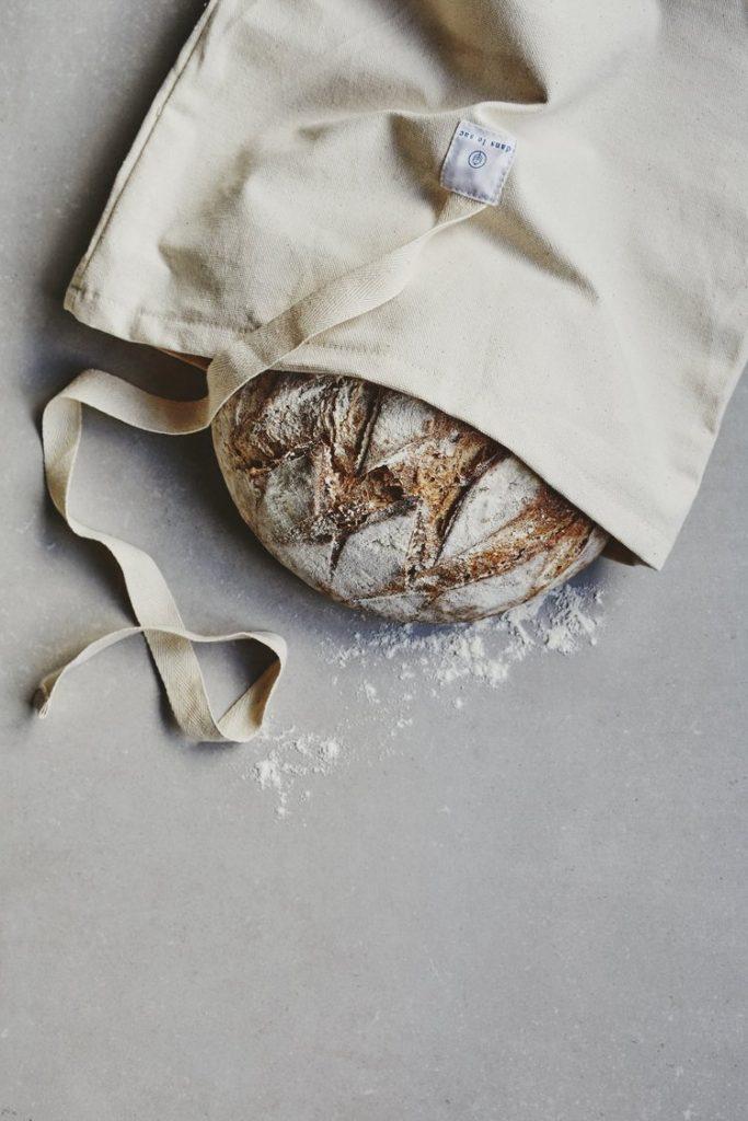 sac à pain écologique réutilisable zero waste minimalisme
