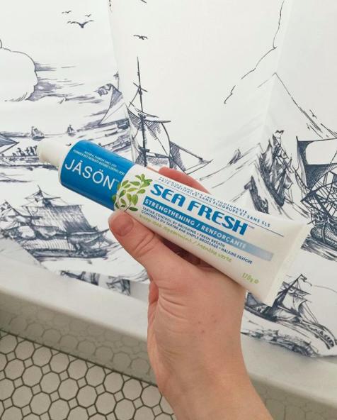 jason sea fresh natural tooth paste