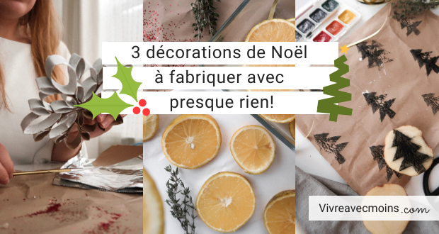 décorations noël